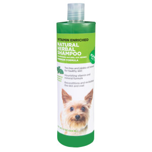Herbal dog shampoo